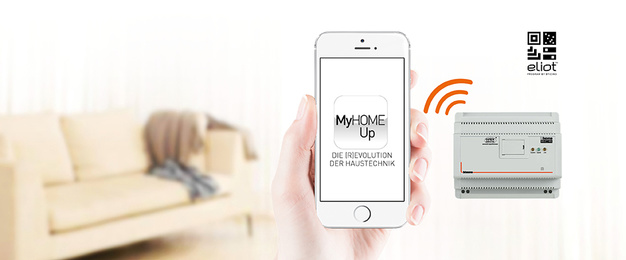 MyHOME / MyHOME_Up bei manes die electro gmbh in Erfurt